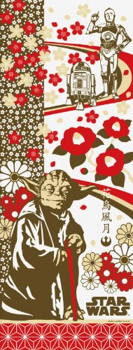 STAR WARS Towel of Japanese Design The Beauties of Nature