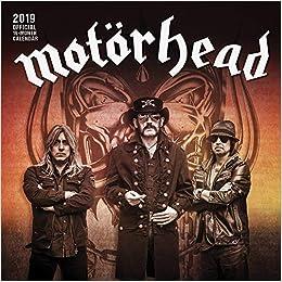 Motorhead 2019 12 x 12 Inch Monthly Square Wall Calendar