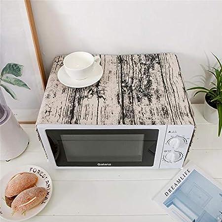 Cubierta para horno de microondas a prueba de polvo, a prueba de grasa, accesorios de cocina, cubierta antipolvo, cubierta para microondas, campana para horno: Amazon.es: Hogar