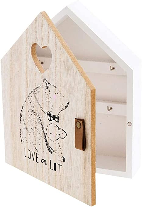 Gancho de pared para colgar abrigos y llaves estilo Shabby Chic envejecido estilo cl/ásico con vela CGB Giftware GB05085 estilo de madera envejecida