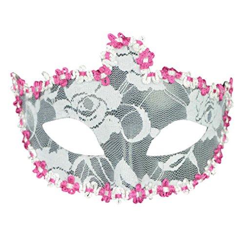 Teenage Mutant Ninja Turtles Costume Diy (SUPPION 2016 New Ladies Girls Sexy Crown Lace Elegant Mask Masquerade Mask (F))