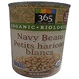 365 Everyday Value Organic Navy Beans, 410ml (13.8 fl oz)