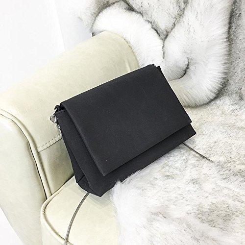 Body Bag Chain Wildlead Mini Shoulder Bags Pu Cross Black Women Flip Messenger Leather wXqnHpBxCE