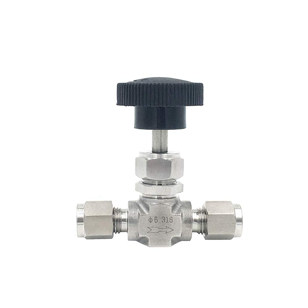 Specification: SS316, Wiring Control: 3.175mm Fincos Compression Needle Valve Crane Forged 3000 PSI Fit 3//6//8//12mm 1//8 1//4 3//8 1//2 OD Tube 304 316 Stainless Flow Control