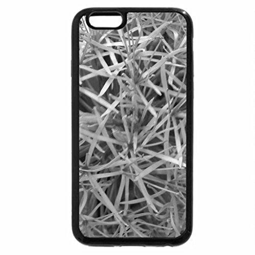 iPhone 6S Plus Case, iPhone 6 Plus Case (Black & White) - football lily