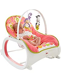 Fisher-Price Infant-to-Toddler Rocker, Floral Confetti BOBEBE Online Baby Store From New York to Miami and Los Angeles
