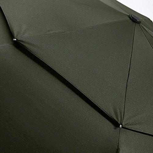 LifeTek Windproof Travel Umbrella Automatic Open Close Small Folding Umbrella
