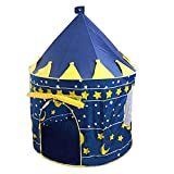 eroute66 Portable Foldable Princess Castle Tent Play House Kids Outdoor Indoor Toy Gifts
