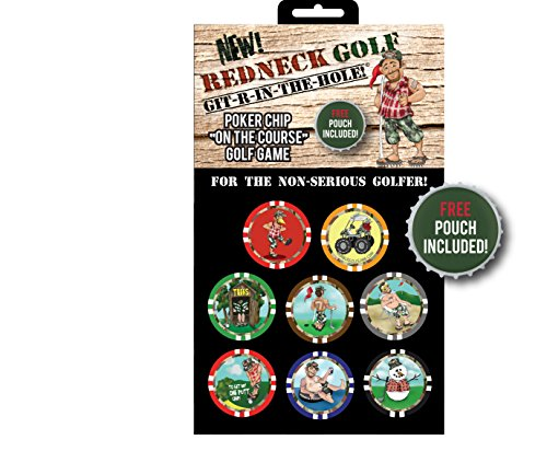 AMA Golf Vegas Golf Games Poker Chip Game (Redneck Golf Edition) by AMAGolf