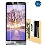 Taken LG G3 Screen Protector - [2 Pack] High Definition Tempered Glass Ultra Clear for Lg G3 protective screen