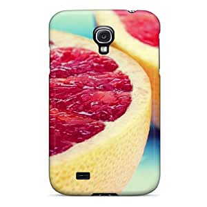 Cute Tpu Frankqsmigh Sliced Grapefruit Case Cover For Galaxy S4