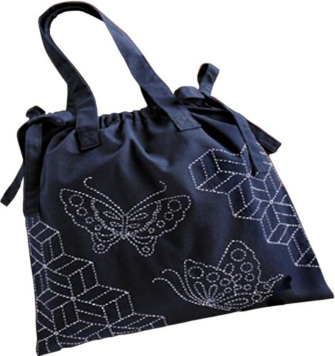 Orimupasu made quilting shoulder bag kit production (parquet and butterfly) / 257 (japan import)