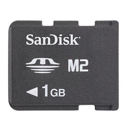 SDMSPD1024A10 - SanDisk Flash memory card - 1 GB - Memory Stick PRO Duo
