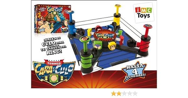 IMC Toys - Juego Caraculo Golpea En El Ring Las Caras Y Tu Culo 43-7567: Amazon.es: Juguetes y juegos