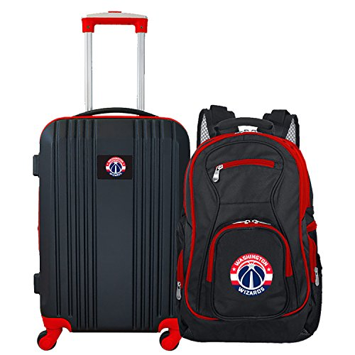 (NBA Washington Wizards 2-Piece Luggage Set)