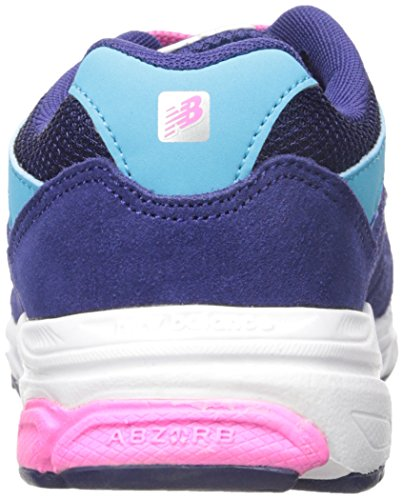 New Balance kj888 V1 Pre Zapatilla de Running (Little Kid) Azul/Rosado