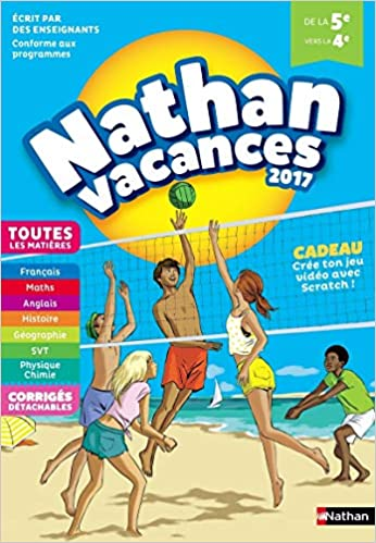 Amazon Fr Nathan Vacances 2017 5eme Vers 4eme H Carre