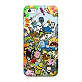 Perfect Adventure Time Case Cover Skin For Iphone 5/5s Phone Case