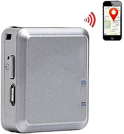 Localizador GPS Alarma de Puerta Inteligente Tiempo Real Mini Tracker Encendido 120 H Gris: Amazon.es: Electrónica