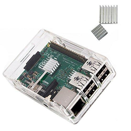 Raspberry Model Protective Heatsinks Clear product image