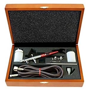 Paasche VLST-PRO Double Action Airbrush in Wood Case