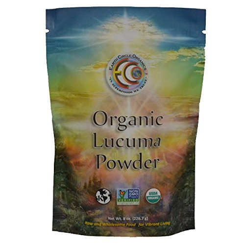 Earth Circle Organics Lucuma Powder, Organic, 8 Ounce