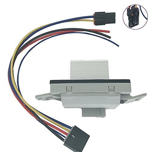 on ac blower motor resistor wiring harness