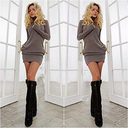 Long court de Covermason robe Bodycon Mini soir Femmes manchon sexy wqtfSB