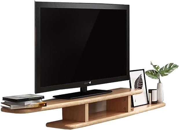 Estanterías Nordic Sala de Estar de Madera Maciza apartamento pequeño Set-Top Box Rack TV gabinete Colgar en la Pared tabique de Pared estanterias de Pared (Color : B): Amazon.es: Hogar