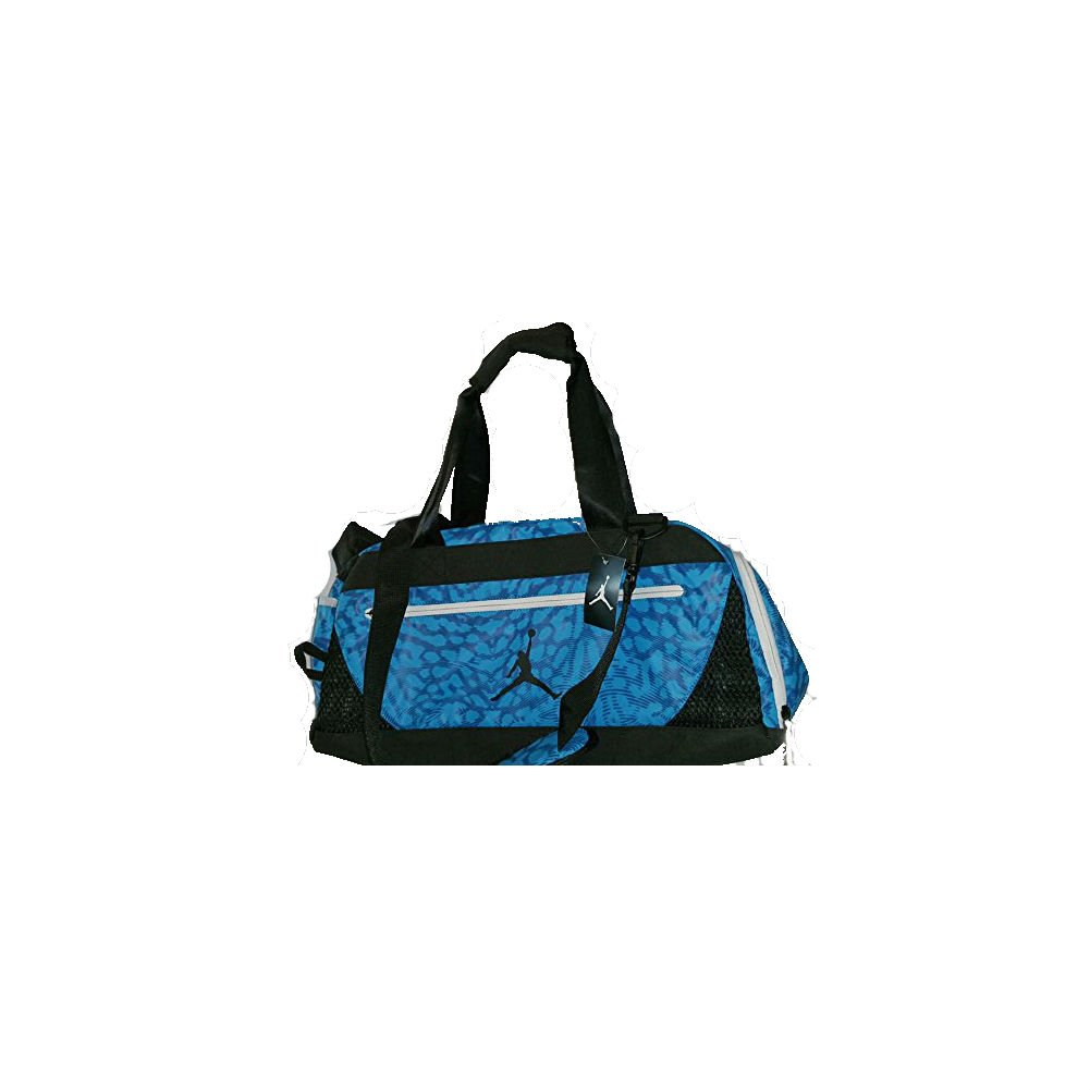 e50223df42dd Amazon.com | Nike AIR JORDAN JUMPMAN 22 Duffel Bag - BLUE LAGOON ...