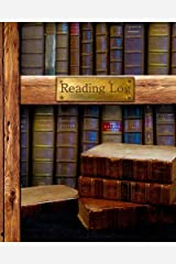 """Reading Log: Gifts for Book Lovers / Reading Journal [ Softback * Large (8"""" x 10"""") * Antique Books * 100 Spacious Record Pages & More... ] (Reading Logs & Journals) Diary"""