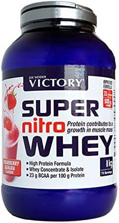 Victory Super Nitro Whey - 2,2 kg Vainilla-Crema: Amazon.es ...