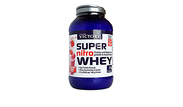 Victory Super Nitro Whey - 2,2 kg Cookies and Cream: Amazon ...