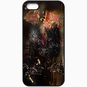 Personalized iPhone 5 5S Cell phone Case/Cover Skin 14791 why can t i derrick rose by saburotsu123 d3e7rnj Black