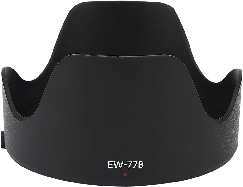 Haoge Bayonet Lens Hood for Canon EF 35mm f//1.4L II USM Replaces Canon EW-77B
