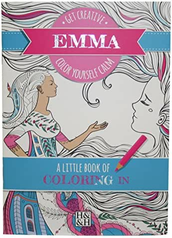 Coloring Books Emma Drawing Book