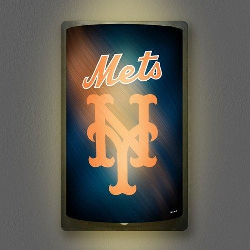 (Party Animal Sports Team Logo New York Mets MotiGlow Light Up Sign)