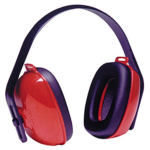 Howard Leight by Honeywell QM24PLUS QM24 Earmuffs, 25 DB NRR, Red, Over The Head