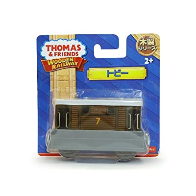Fisher-Price Thomas & Friends Wooden Railway, Toby Train: Toys & Games