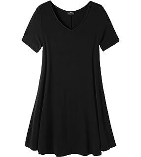 LAPASA Casual - Blusa para Mujer de Manga Corta. (Camiseta con Volantes)