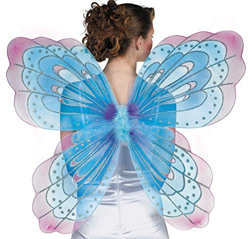 AMSCAN Jumbo Butterfly Halloween Costume Accessories for Adults, One -