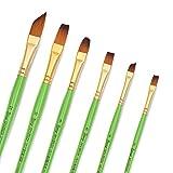 Bianyo Acrylic Paint Brush - Set of 12 - Art Nylon