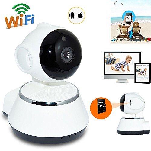 Lan Network Camera - Wireless 720P Pan Tilt Network Home CCTV IP Camera IR Night Vision WiFi Webcam