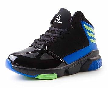 f5058fa1626 GLSHI Hombres Zapatos de Baloncesto Transpirable Zapatos Deportivos al Aire  Libre de otoño Zapatillas de Deporte Impermeables  Amazon.es  Deportes y  aire ...