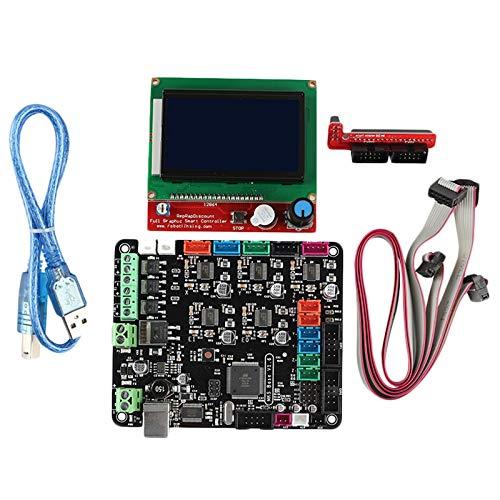 CUHAWUDBA Kit De Placa Base para Impresora 3D Mks Base V1.6 + ...