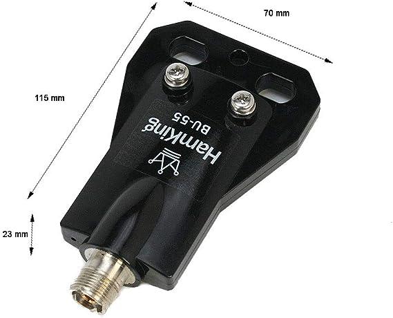 HANKING HKBU55 Balun relacion 1:1 Frecuencia 3-75 Mhz para dipolos de hilo.