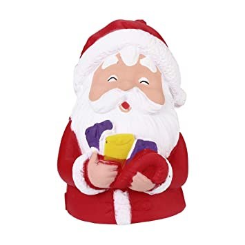 8011c7c7a5212 YUYOUG 2019 New Squishy Adorable Cartoon Santa Claus Scented Jumbo Charm  Super Slow Rising Squeeze Dog