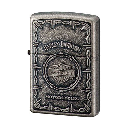 Zippo 2018 Model Harley Davidson Japan Silver Barrel Finish Bar Shield - Finish Barrel Silver