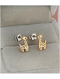Teen Girls Stud Earrings Gold plated Earrings for Girls Erz0159
