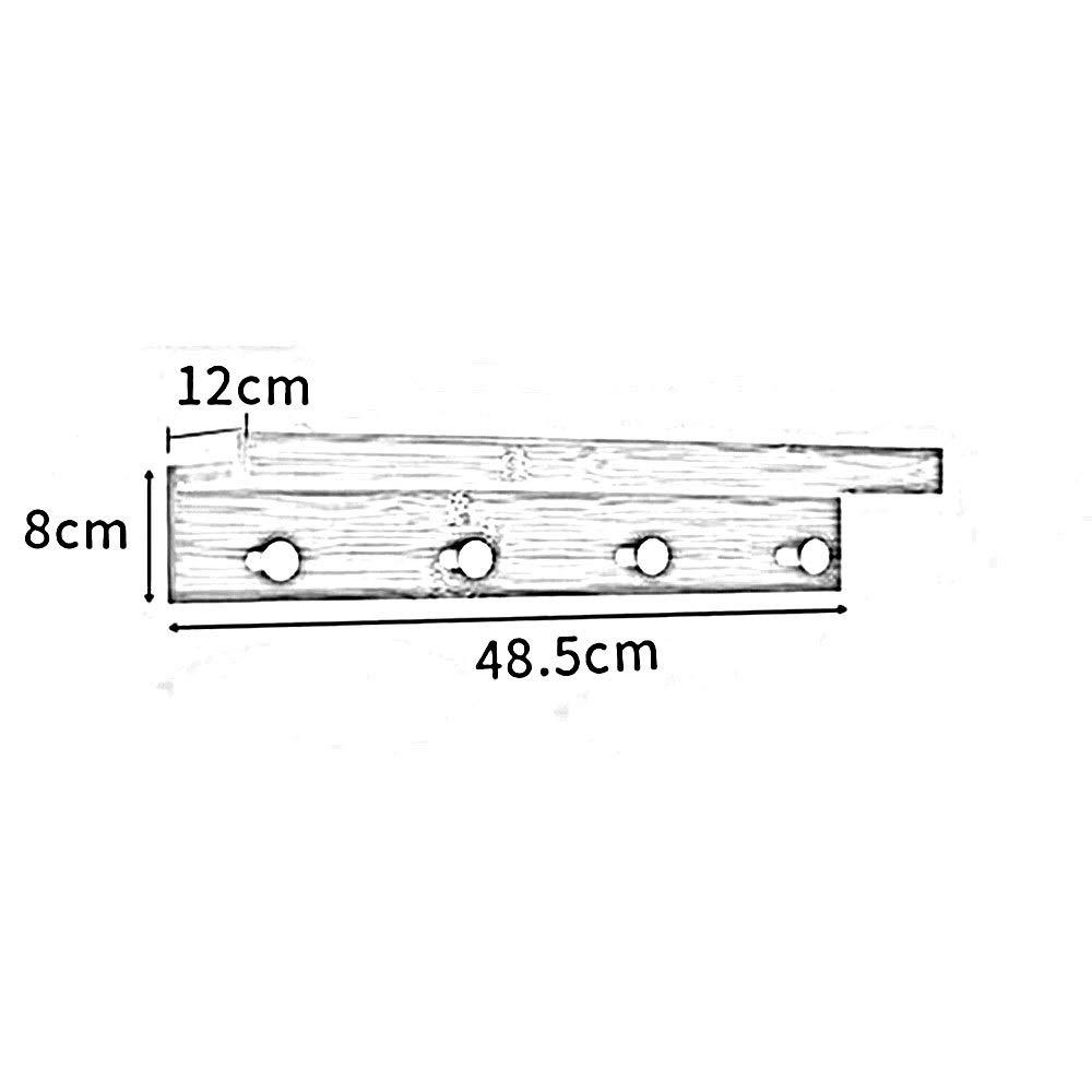 Amazon.com: JIAYING Perchero de pared con 2 – 5 ganchos ...